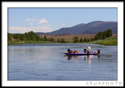 Rafting the Green River. Copyright Nate Young and Crux Photo.
