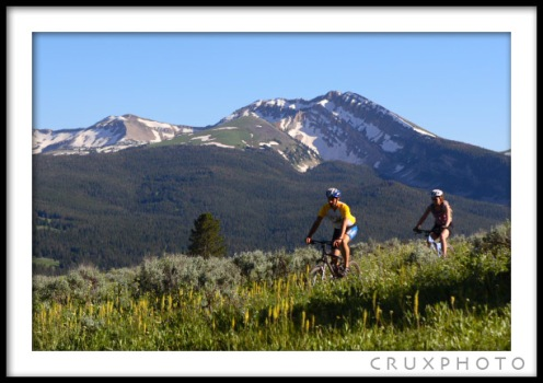 Slider Trail near Big Sky, MT.  Copyright Nate Young and CruxPhoto